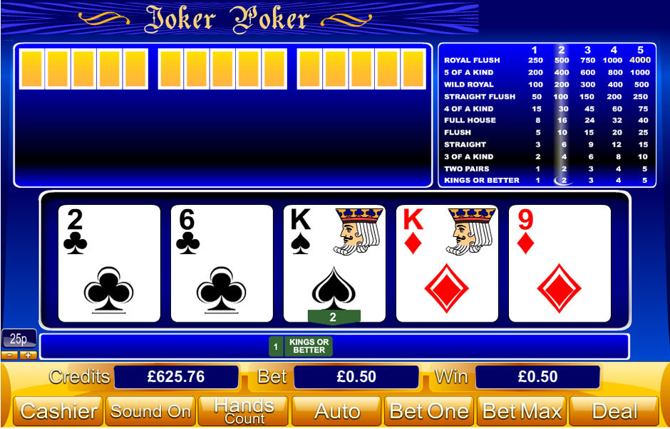 how to play casino online mega joker