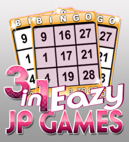 3 in 1 Eazy Jackpot Bingo Games