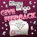 At Ritzy Bingo, Your Opinion Is Valued.