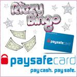 Ritzy Bingo introduce Pay Safe Cards