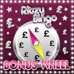 Get Lucky on the Ritzy Bingo Bonus Wheel